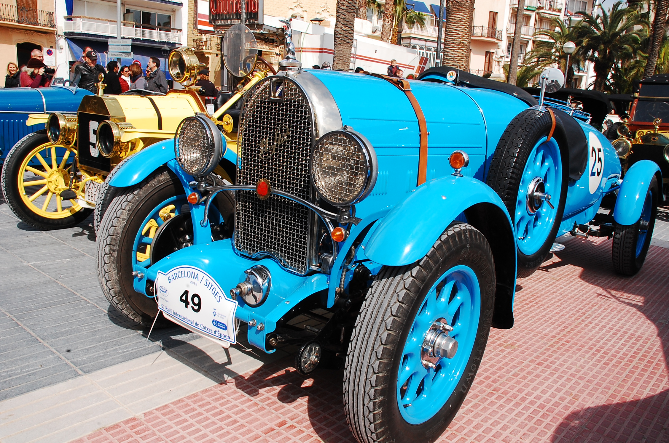 rallye auto barcelone sitges