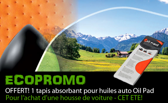 promo oil pad housse voiture